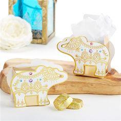66573025f49 Lucky Golden Elephant Favor Box (Set of 12). Indian Wedding FavorsDiy Wedding  FavorsJewel ...