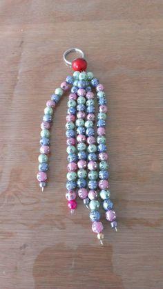 Diy sleutelhanger gemaakt door kinderen  www.creashoplimburg.nl