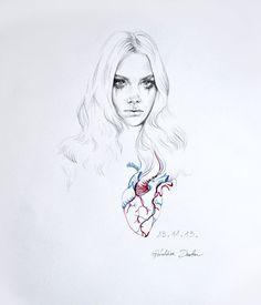 Géraldine Daulon Illustration. Hommage aux victimes des attentats de Paris. 2015