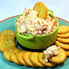 Inspired By eRecipeCards: Smoked Pimento Cheese Dip - Church PotLuck Appetizer/Dip/Condiment