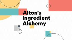 Food Network: Alton's Ingredient Alchemy on Vimeo