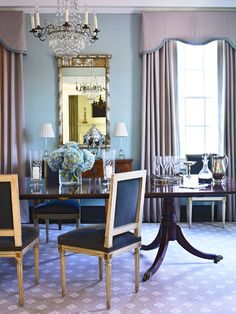 Traditional Dining Room By Susan Dowhower Interiors Atlanta