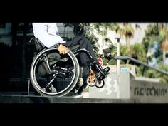 Watch SoftWheels In Motion to Go Down Stairs and Handle Rough Terrain Easily!