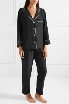 Marina Silk Pajama Set
