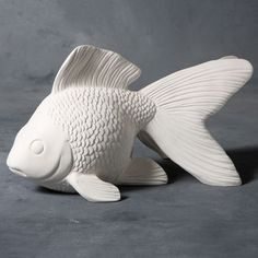 Clay-King Offers Name Brand Pottery Equipment, Buy Ceramic and Pottery Equipment Online for the Lowest Price. Fish Sculpture, Pottery Sculpture, Ceramic Sculptures, Ceramic Pottery, Ceramic Art, Clay Fish, Keramik Design, Ceramic Animals, Fish Art