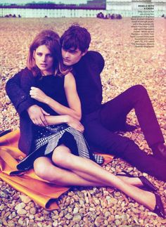 Natalia Vodianova by Mert & Marcus for Vogue US September 2011  styled by Grace Coddington