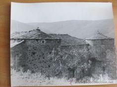 GALICIA GRAN FOTOGRAFIA ORIGINAL PAZO CASTILO DE QUINDOS CERVANTES - LUGO APROX 1955/60 30X24cm