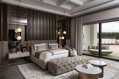 Luxury Bedroom Design, Modern Luxury Bedroom, Bedroom Bed Design, Luxury Rooms, Luxurious Bedrooms, Dream Master Bedroom, Master Bedroom Interior, San Diego, Decoration