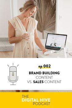 Brand Building Content vs Sales Content for your digital marketing calendar — Honey Pot Digital Marketing Articles, Online Marketing, Digital Marketing, Business Stories, Business Tips, Business Storytelling, Marketing Calendar, Brand Story, Brand Building