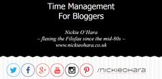 Time Management - the opening keynote speech for the BlogOn conference in Manchester from 2nd May 2015.