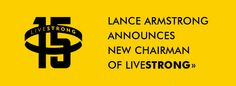 The official website of Lance Armstrong. Company Logo, Events, Logos, News, Sports, Movie Posters, Hs Sports, Logo, Film Poster