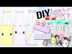DIY ┋ PAQUES DECO KAWAII AVEC PRESQUE RIEN  Chambre salon francais easter room decor - YouTube