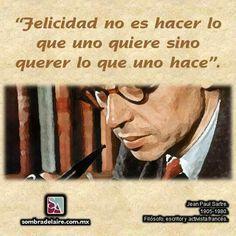 #EfemérideLiteraria En 1905 nace Jean-Paul #Sartre. #Literatura #Filosofía #Novela #LaNáusea www.sombradelaire.com.mx