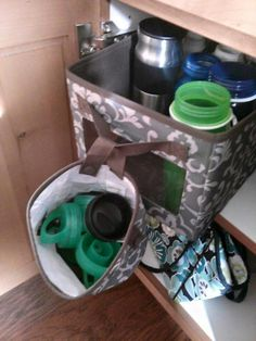 Oh-Snap Bin and Your Way Cube for water bottles and tops! - Kristen F