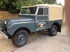 LAND ROVER SERIES ONE RAF BLUE (1954) (picture 2 of 6)