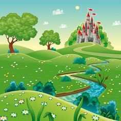 Find Panorama Castle Cartoon Vector Illustration stock images in HD and millions of other royalty-free stock photos, illustrations and vectors in the Shutterstock collection. Thousands of new, high-quality pictures added every day. Castle Cartoon, Castle Vector, Buy Wallpaper Online, Landscape Background, Illustration, Drawing For Kids, Wall Murals, Landscape Paintings, Fairy Tales