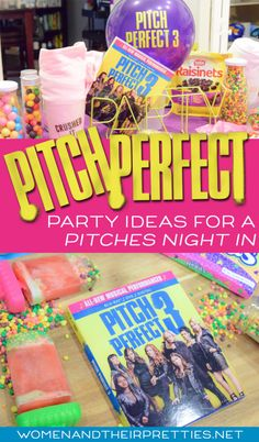 Check out all my ideas for an easy Pitch Perfect party with an original recipe: ILY Awesome Nerds Party Punch Pops. #ad #PitchesNightIn #PitchPerfect #PitchPerfect3