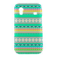 New Green Aztec Pattern Art Samsung Galaxy Ace S5830 Hardshell Case Cover Samsung Galaxy Ace S5830 Case