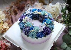 "ElleBaking FlowerCake on Instagram: "". Start up Buttercream Flower Cake Class...by student thank you all of you kha... IG: ellebaking_flowercake FB: ellebaking  Tel:…"" Cake Decorating, Decorating Ideas, Buttercream Flower Cake, Panna Cotta, Student, Ethnic Recipes, Desserts, Instagram, Food"