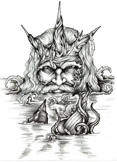 Poseidon....the artwork by ~Almigh-T on deviantART