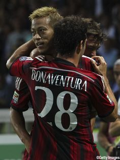 Keisuke Honda - AC Milan - MF - #10