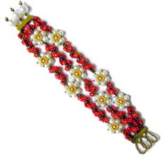 Garland Rope Pattern by Stacey Gibson at Sova-Enterprises.com Many FREE Bead Patterns available!