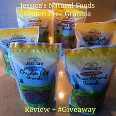 Jessica's Natural Foods GF Granola - #winalltheflavors - ends 11/25. 6 pack!