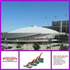 """Charles Koch Arena, Kansas masterpiece using Firestone UltraPly TPO roof membrane.  Every """"Masterpiece"""" marks the attainment of its age and endures as profit, reputation & prosperity. Your investment in Firestone roofing system bringing you faster to your aim.   Firestone endures profit, reputation & prosperity for loong time."""