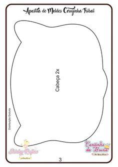 Apostila de Moldes Corujinha Tribal em feltro - Como Faço Felt Food, Needle Felting, Applique, Sewing, Crafts, Suzy, Woodland, Shape Crafts, Tribal Animals