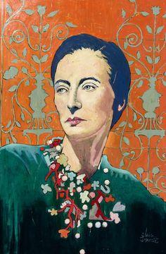 Madame de ... Art, Male Sketch, Painting, Canvas