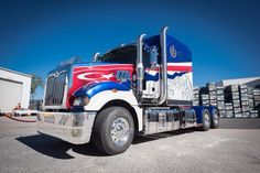 The build process on the custom built Mack Super-Liner began at the factory in Brisbane.    Thirty men were dedicated to the completion of this unique truck.  The customization includes: a three layer paint scheme to incorporate the flag of Johor and tiger;  and blue lighting installed to replicate a runway extending from dashboard to rear deck.  We believe this legendary Mack really is one, fit for royalty.