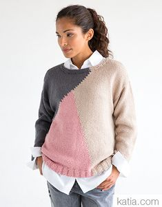 Sweater Hoodie, Men Sweater, Color Blocking Outfits, Dot Tattoos, Winter Dresses, Pulls, Knit Crochet, Sweaters For Women, Hoodies