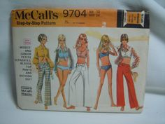 Vintage 1960s McCall's Sewing Pattern Misses or by ReTHINKinIt