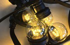 Set 9A: 25M & 75 transp. lampen, extra warm wit - > Prikkabel LED lampen, prikkabels, lampjes en meer