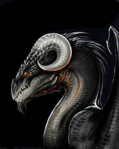 Dragon eye by TatianaMakeeva on DeviantArt Magical Creatures, Fantasy Creatures, Fantasy Dragon, Fantasy Art, Cool Dragons, Dragon Artwork, Dragon Pictures, Dragon's Lair, Dragon Design