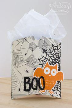 Howl-O-Ween Treats + Boo to You Goodie Bags ~ Susan Wong