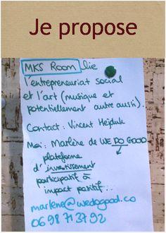 MKS Room : Music & Social Business !  http://we.makesense.org/?cat=199