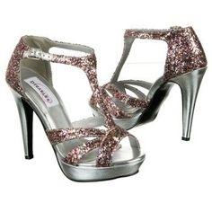 Prom Samara Multi-Color Glitter Dress Sandals $59.95