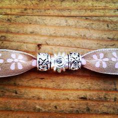 My ribbon bracelet
