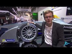 Guide to Formula E: Michelin tyres - YouTube