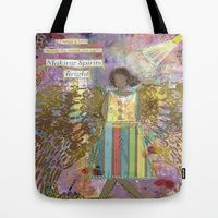Tote Bags by Tiffany Alcide (owner Of WISE Art) | Society6