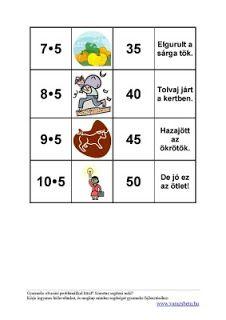 Szorzótábla - versben | Három gyerekkel irány Anglia! Mathematics, Homeschool, Album, Education, Learning, Kids, Minion, Short Stories, Picasa