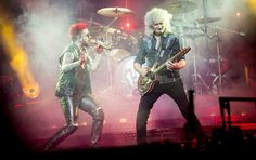 Queen and Adam Lambert pay tribute to Freddie Mercury with rockin' Palace show | MLive.com