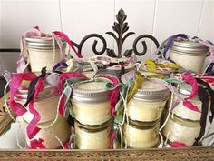 All Natural 100% Soy Wax candles