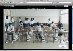 CONVERSE「MYDENTITY」2009FALL&WINTER | WORKS | デキスギ D.K.S.G. #converse #maydentity #direction #design #shooting #movie #boy #girl #sneaker #kicks #advertisement #print #web #sorepromotiontool #dekisugi #japanese #Highschool #web