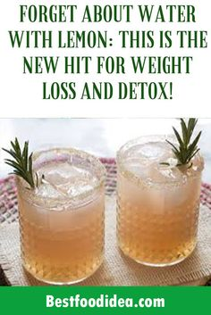 FORGET ABOUT WATER WITH LEMON: THIS IS THE NEW HIT FOR WEIGHT LOSS AND DETOX! Weight Loss Eating Plan, Weight Loss Drinks, Healthy Fruits, Get Healthy, Lemon Detox Cleanse, Lean Protein, Lemon Water, Detox Drinks, Eating Plans