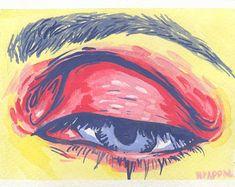 Gouache Eye