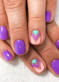 30 Summer and Spring Nails Designs and Art Ideas - April Golightly #SummerNails
