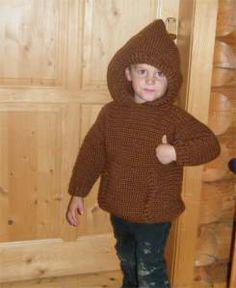 Woodland Hoodie FREE knitting pattern ||| stonechat