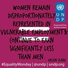 Pin it if you agree that women's active economic participation is central to women's empowerment!